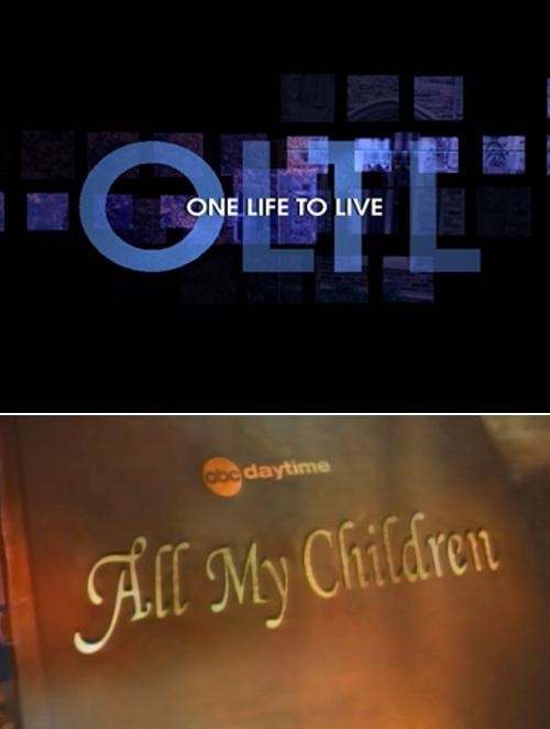 All My Children,Breaking Soap Opera News,One Life to Live