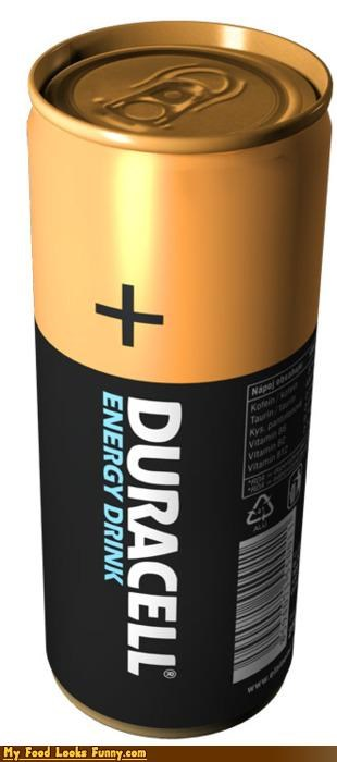 battery coppertop duracell energy drink - 4654973952