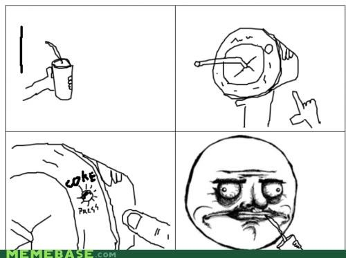 coke cups drink me gusta other Rage Comics - 4655220736