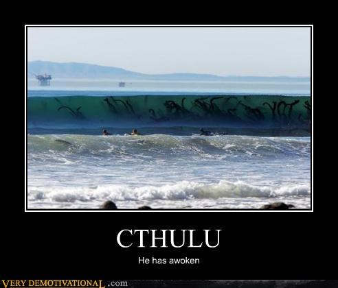 cthulhu ocean scary tentacles - 4655325184