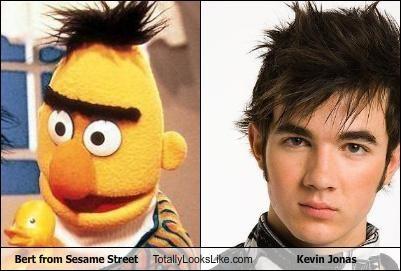 bert jonas brothers kevin jonas Sesame Street - 4655358976