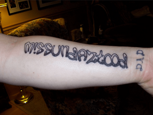 bad text tattoos funny - 4655388672