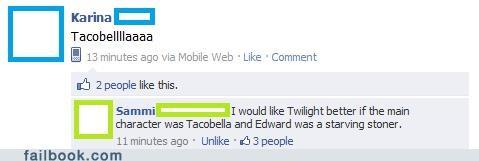 gross lol spelling twilight - 4655550976