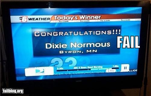 failboat innuendo name news television
