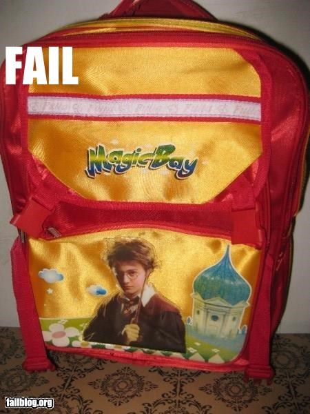 backpack,g rated,Harry Potter,knock offs