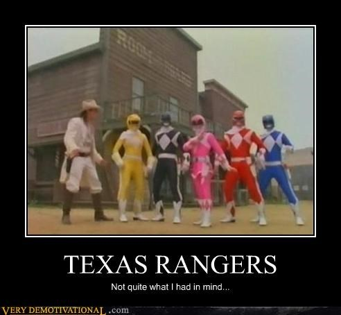 power rangers Texas Rangers TV wtf - 4655833856