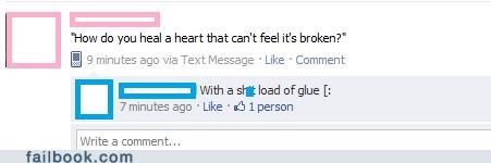 glue broken heart hearts - 4656266240