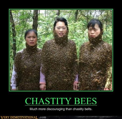 bees belt chastity scary - 4656667392