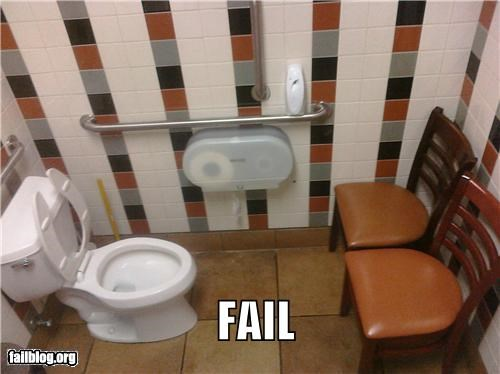 bathroom,chairs,failboat,g rated,privacy,why