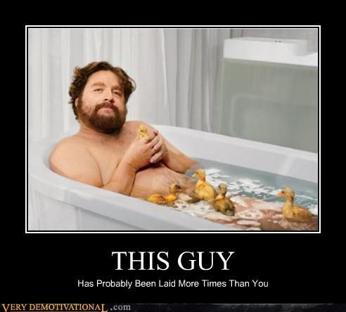 bath laid Pure Awesome sexy times Zach Galifianakis