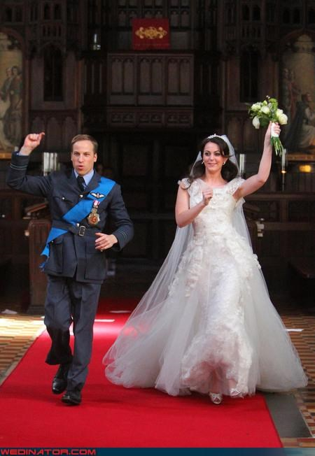 dance funny wedding photos impersonators kate middleton prince william royal roundup royal wedding Royal Wedding Madness Video