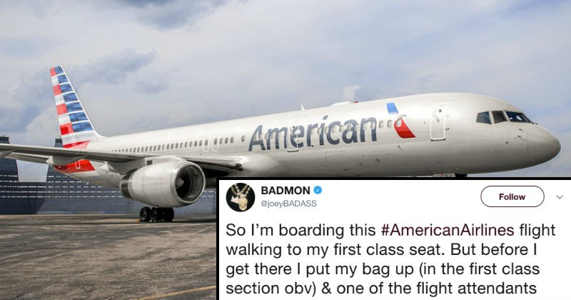 Joey Badass live-tweets rough experience he has with American Airlines.