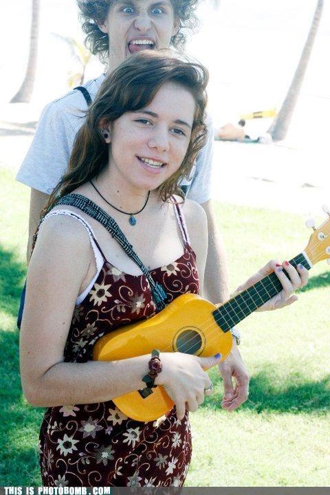 girl not a fan owned ukulele - 4657198336
