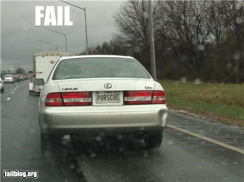 cars failboat g rated irony license plate name brands - 4657540608