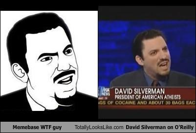 bill-oreilly david silverman expressions Hall of Fame Memes wtf guy - 4657551360