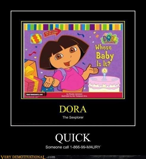 dora the explorer hilarious maury pregnant quick - 4657647360