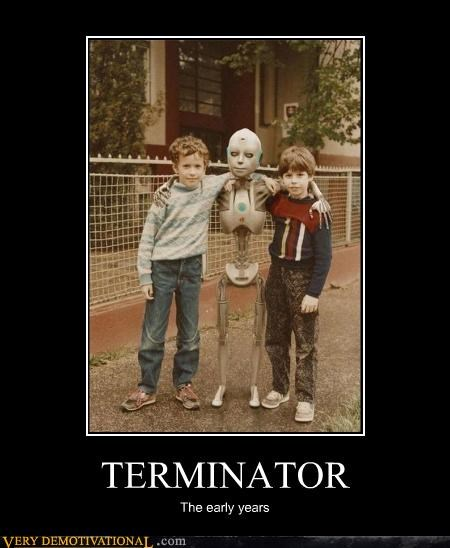 TERMINATOR The early years