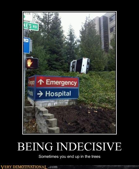 hospital indecisive truck