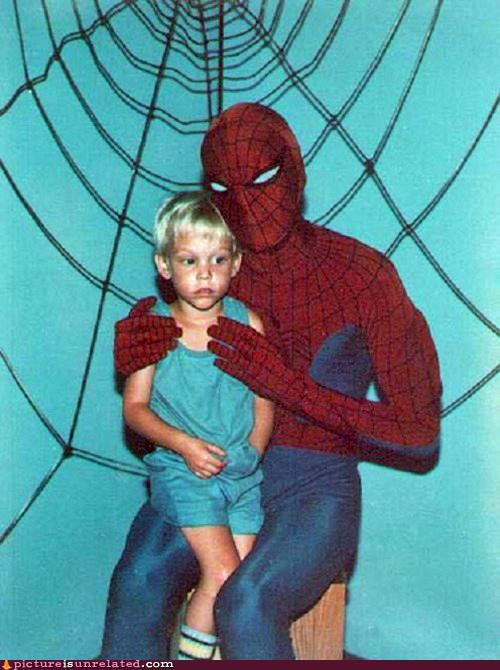 eww kid lap pedo Spider-Man