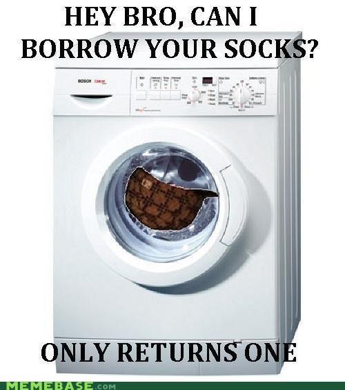 bro,Memes,Scumbag Steve,socks,washer