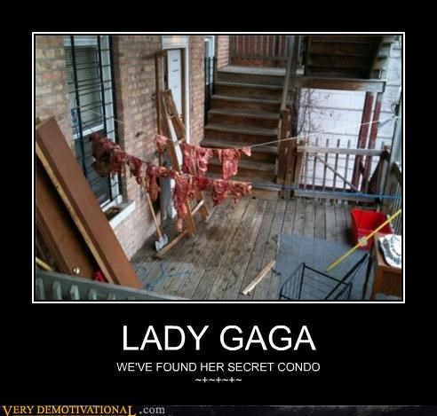 condo,eww,lady gaga,meat