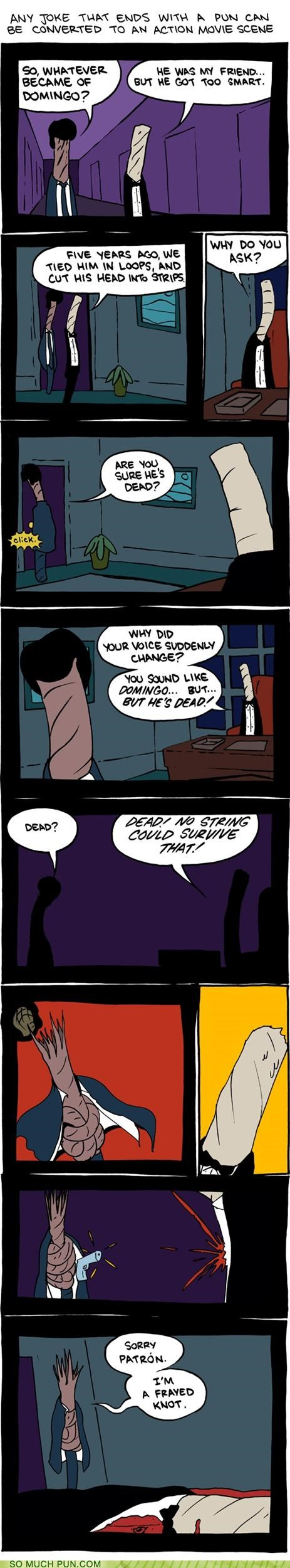 action,afraid,csi,david caruso,frayed,homophones,knot,Movie,not,pun,SMBC,strategy,trick