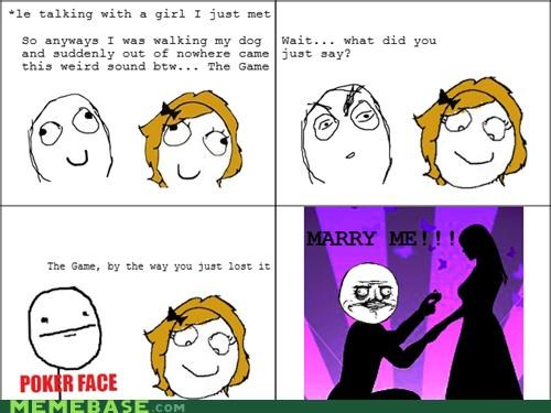 dogs marry me me gusta Rage Comics the game - 4658526208