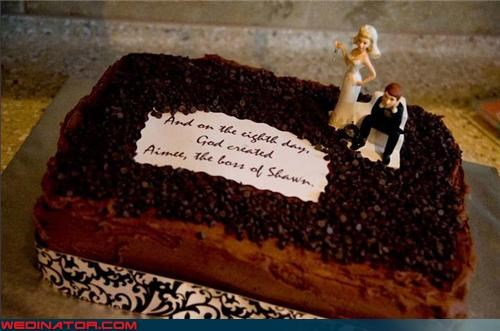 bridezilla cake toppers funny wedding photos wedding cake - 4658882560