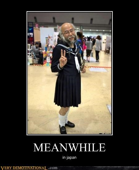 cosplay,Japan,Meanwhile,old guy