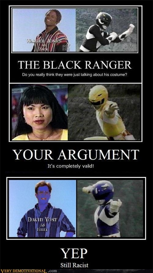 blue power rangers racist smurf - 4659377408