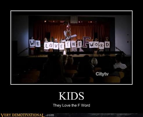 f word kids swearing