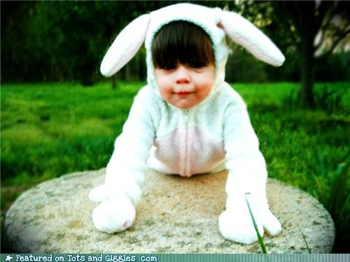 adorable aww bunny easter kids in costumes - 4659921664