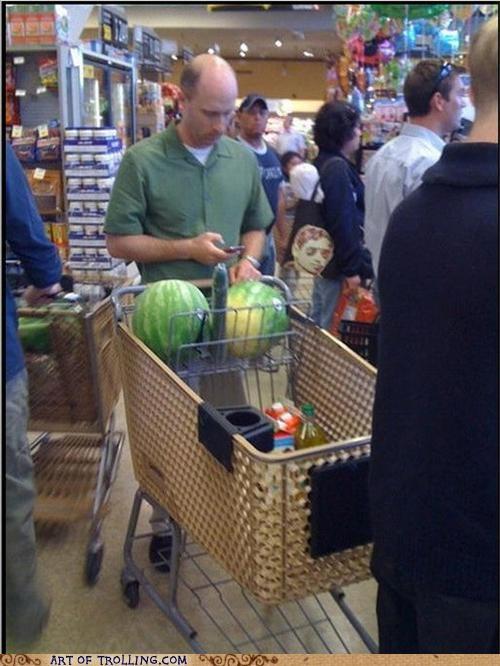 cucumber grocery IRL phallic watermelons - 4660283648
