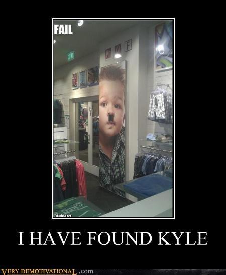 hitler kid kyle mustache - 4660857344