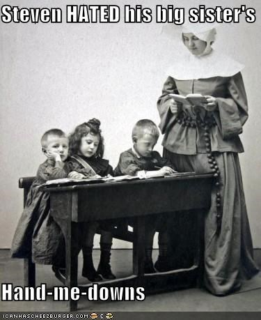 funny,kids,nun,Photo