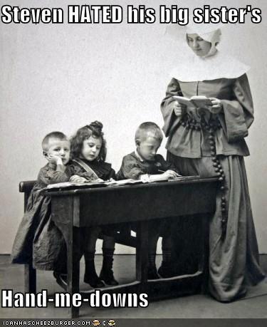 funny kids nun Photo - 4660993024