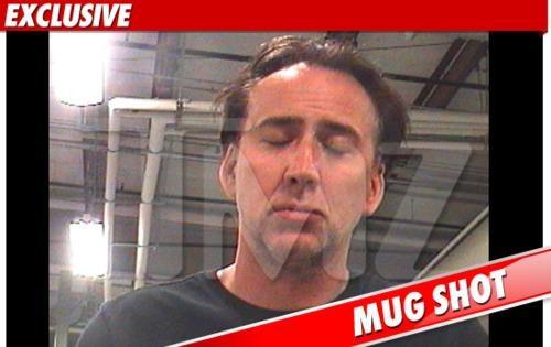 Celeb Arrest mug shot nic cage - 4661189376