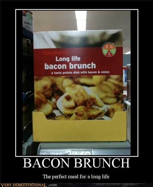 bacon,brunch,long life