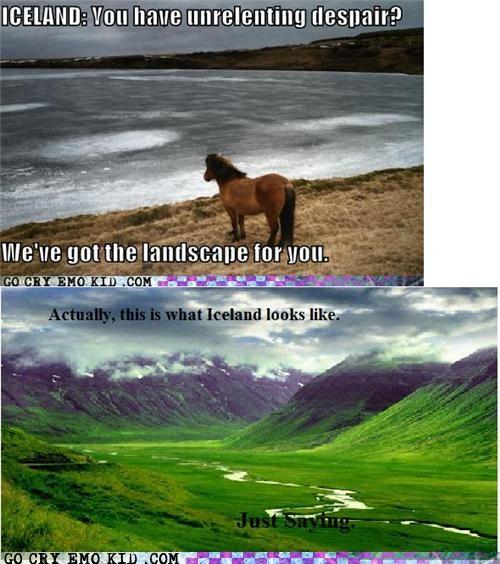 emo pony,green,Iceland