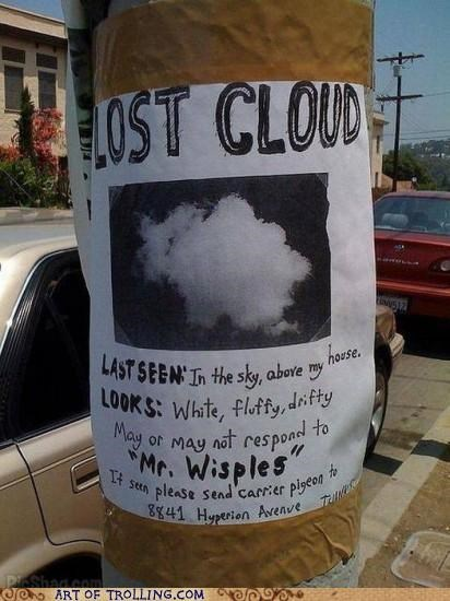 clouds IRL irl troll lost signs - 4661659392