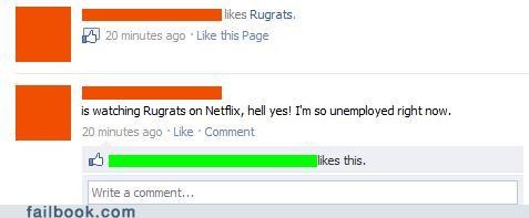 rugrats,unemployment