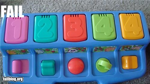 childrens toys counting failboat g rated numbers oops toys - 4663678976