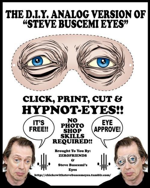 DIY,Meme Mask,Steve Buscemeyes