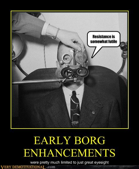 borg eyesight Star Trek - 4664022272