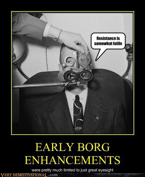 borg eyesight Star Trek - 4664022272