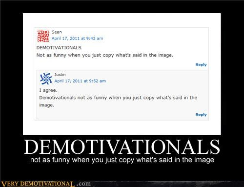 demotivationals funny not funny referential - 4664161280