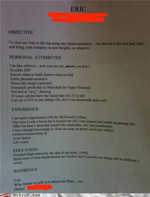 awesome resume - 4664247296