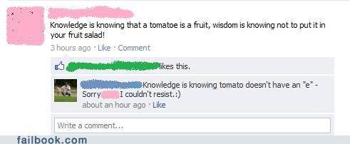 tomatoes wisdom knowledge