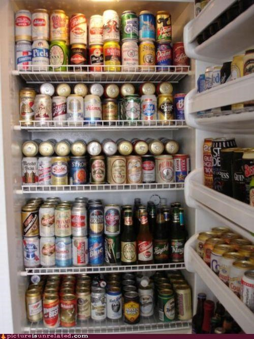 awesome beer fridge wtf - 4664640256