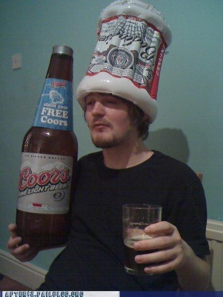 beer,budwiser,coors,hat